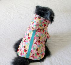 Raincoat for Your Little Canine Cupcake  by BloomingtailsDogDuds, $24.95