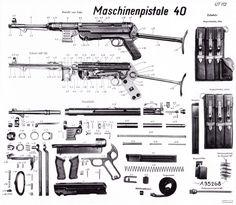 46 Best MP 40 machine gun images in 2019 | Guns, Weapons