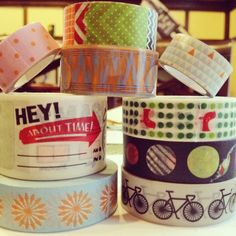Paper tape & washi tape by Kerri Butler