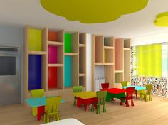 Interior Design Of A Nursery Classroom. - Picture gallery