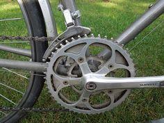 File:Half-step plus granny crankset on a Trek 620 Touring Bicycle.JPG