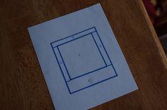 Polaroid quilt block
