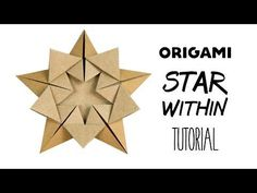 Origami 'Star Within' Tutorial - Ali Bahmani - Paper Kawaii
