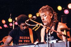 Luther Allison and John Mayall