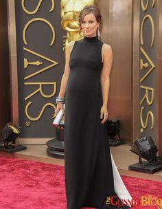 Future mom Olivia Wilde was glowing on the red carpet at the 2014 Oscars last night. Olivia's maternity style has been great so far Maternity Fashion, Maternity Style, Oscars 2014, Academy Award Winners, Olivia Wilde, Awards, Dressing, Formal Dresses, Bump