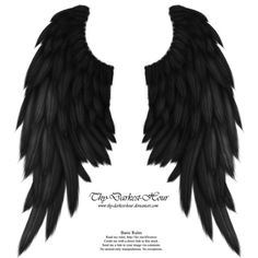 daydream_wings___black_by_thy_darkest_hour-d5q7jv8.png (1259×1392) ❤ liked on Polyvore featuring wings, backgrounds, fillers, other, accessories, text, detail, quotes, scenery and embellishment