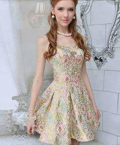 vestido curto rodado princesa importado frete gratis