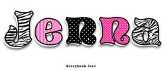 """Custom cut Wooden wall letters 10"""" Zebra Girl! Any color you need!This listing is by 3DPhotodisplays! Or order our 8"""" Letters!  www.3dphotodisplays.com"""