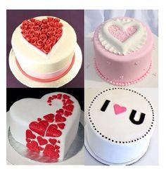Valentine or Anniversary cake ideas.