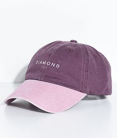 7979778c3d1b0 Stone Cut Purple Strapback Hat