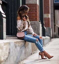 Meet Maria Vizuete, see 691 looks from Maria Vizuete for outfit ideas and style inspiration on ShopStyle Classy Outfits, Stylish Outfits, Cool Outfits, Summer Outfits, Girl Fashion, Fashion Looks, Fashion Outfits, Womens Fashion, Today's Fashion Trends