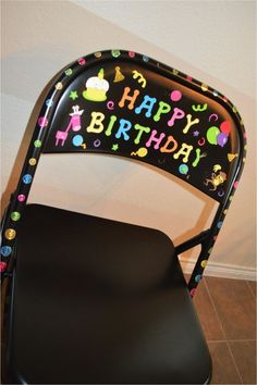 If you are looking for a simple DIY project for classroom birthdays, this is it! Students love sitting in the birthday chair on their special day.