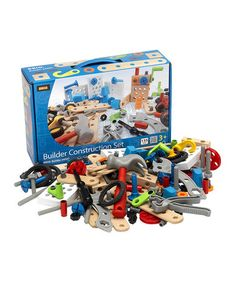 Builder Construction Set #zulily #zulilyfinds http://www.zulily.com/invite/jyoungquest659 There's a BRIO sale today on Zuliliy. Best, quality toys, last for many generations.