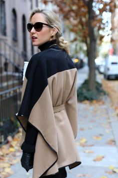 The Classy Cubicle: Caped | Street Fashion