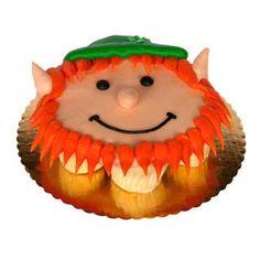 Leprechaun Cupcake Cake | Holiday - St. Patrick's Day | Deerfields Bakery Pull Apart Cupcake Cake, Pull Apart Cake, Baby Cupcake, Cupcake Cookies, Cupcake Cake Designs, Cupcake Ideas, St Patricks Day Cupcake, Cupcake Pictures, Cupcake Tutorial