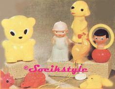 SOCÍK STYLE-Ostalgia: Gumenné hračky