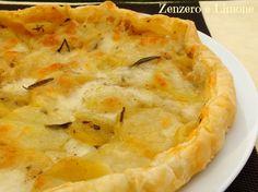 torta salata patate e mozzarella -