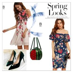 """""""Spring Magic Fashion"""" by yourhighheels4 ❤ liked on Polyvore featuring H&M"""