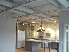exposed truss painted - Google Search