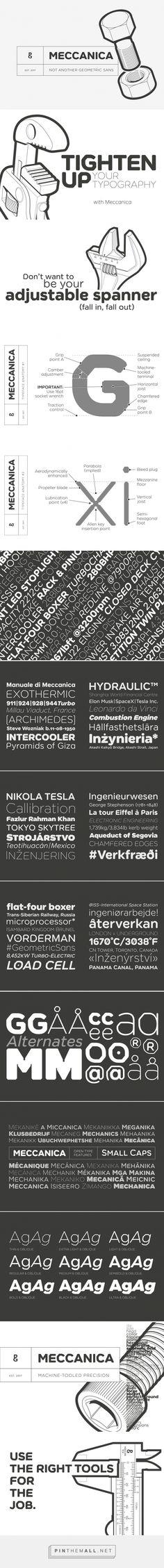 Meccanica - Desktop Font & WebFont - YouWorkForThem
