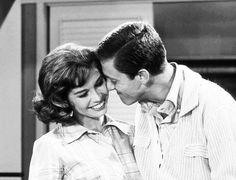 "TV's top couples: Mary Tyler Moore and Dick Van Dyke in ""The Dick Van Dyke Show."""