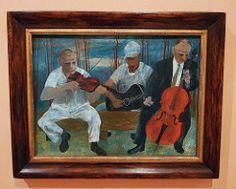 Ben Shahn : Four Piece Orchestra, 1944.