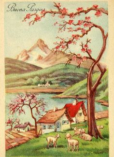 Miss Jane: Easter & Spring Vintage Cards