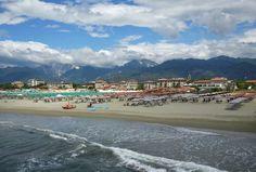 Marina Di Pietrasanta in Toscana Italy. I took this photo from the pier. Heaven on Earth.