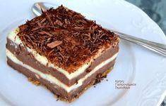 Γλυκό ψυγείου με δύο σοκολάτες και άνθος αραβοσίτου (και σε νηστίσιμη παραλλαγή) - cretangastronomy.gr