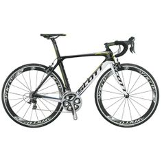 Road bike, for racing, curved bars. Scott Foil Team. Type: road bicycle.