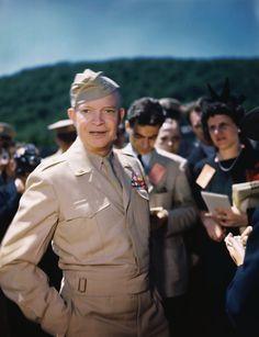 dwight d. eisenhower, allied forces, allied military leaders, western europe, world war II, ike eisenhower