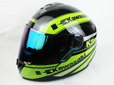 New arrival Kawasaki motorcycle Helmet Mens full face helmet professional racing helmet motocicleta capacete DOT Approved