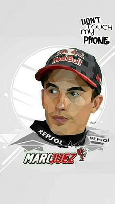 Marc Marquez wallpaper lockscreen #wallpaper #lockscreen #mm93 #dgp96 #darastyles