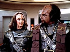 Worf and Alexander's mother