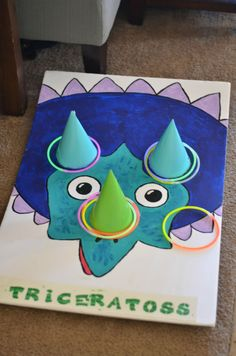 How to Throw a Totally Dino-Mite Dinosaur Party - - My baby just turned Three, you guys! That calls for a party. This one came out great and I want to share how to throw a totally dino-mite dinosaur party. Teenage Party Games, Toddler Party Games, Party Themes For Kids, Diy Party Games, Dinosaur Birthday Party, 4th Birthday Parties, Turtle Birthday, Turtle Party, Kid Parties