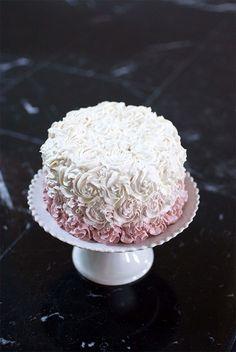 Healthy First Birthday Cake-coconut flour cake