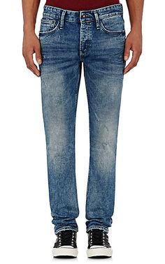 Denham the Jeanmaker Distressed Razor Slim-Fit Jeans - Skinny - Barneys.com