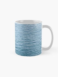 """Blue Ocean"" Mug by ind3finite | Redbubble"