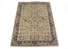 A Grand Legacy Celebration rug in ivory/black. The synthetic rug features burgundy flowers and green leaves on an ivory background. The border has burgundy and green flowers on a black background. Burgundy Flowers, Green Flowers, Synthetic Rugs, Black Backgrounds, Art Pieces, Antiques, Celebrities, Sweet, Celebrity