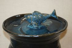 "Home Decor Fountain - Indoor/Outdoor Fountain - 16 Inch Height - ""Flying Fish Garden Fountain"""