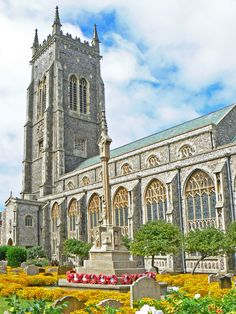 St Peter and St Paul church, Cromer, Norfolk, England Castle Pictures, Church Pictures, Cathedral Basilica, Cathedral Church, Norfolk Coast, Norfolk England, Great Yarmouth, Church Of England, Seaside Towns