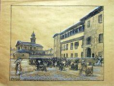 Fidenza: Borgo San Donnino com'era nel primo ottocento.
