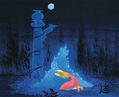 Visual Development from Cinderella, concept art by Mary Blair Old Disney, Disney Love, Disney Art, Disney Girls, Cinderella Cartoon, Cinderella Art, Mary Blair, Sketchbook Inspiration, Painting Inspiration