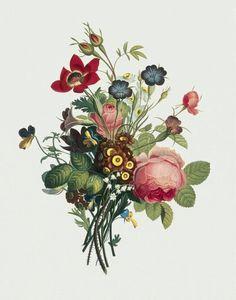 Gallery.ru / Фото #3 - Vintage Flowers - lenadep