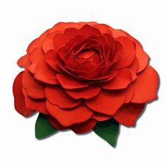 http://jamielanedesigns.blogspot.mx/2014/03/more-3d-paper-flowers.html?m=1