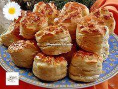 Érdekel a receptje? Kattints a képre! Hungarian Recipes, Pretzel Bites, Cake Cookies, Soul Food, Baked Potato, Biscuits, Muffin, Goodies, Food And Drink