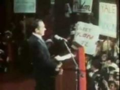 "Richard Nixon's 1972 presidential campaign song and commercial, ""Nixon Now."" Nothing like a good jingle to spruce up a campaign!"