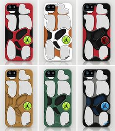 iPhone 5 case - Air Jordan XIII Outsole by LavinPierre