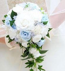 ウエディングブーケ 札幌の花屋 ブライダルブーケ 花の音ウエディング部