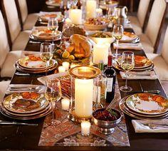 Thanksgiving Table Settings | Pottery Barn